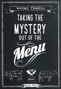 Cover Taking the Mystery out of the Menu