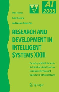 Cover Research and Development in Intelligent Systems XXIII