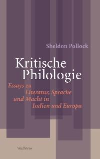 Cover Kritische Philologie