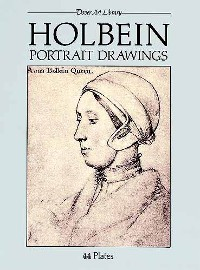 Cover Holbein Portrait Drawings