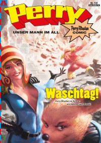 Cover Perry - unser Mann im All 134: Waschtag!