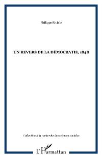 Cover Un revers de la democratie, 1848
