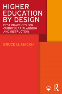 Cover Higher Education by Design