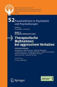 Cover Therapeutische Maßnahmen bei aggressivem Verhalten in der Psychiatrie und Psychotherapie