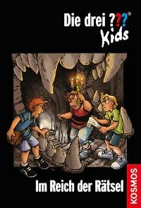 Cover Die drei ??? Kids, 13, Im Reich der Rätsel (drei Fragezeichen Kids)