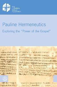 Cover Pauline Hermeneutics