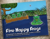Cover Five Happy Frogs
