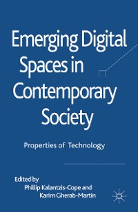 Cover Emerging Digital Spaces in Contemporary Society