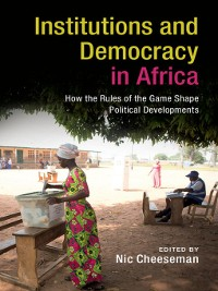 Cover Institutions and Democracy in Africa