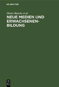Cover Neue Medien und Erwachsenenbildung