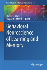 Cover Behavioral Neuroscience of Learning and Memory