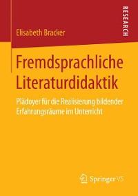 Cover Fremdsprachliche Literaturdidaktik