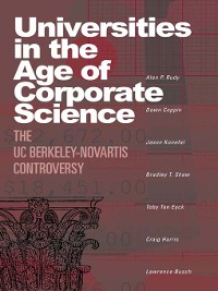 Cover Universities in the Age of Corporate Science