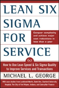 Cover Lean Six Sigma for Service