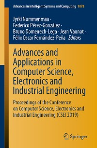 Cover Advances and Applications in Computer Science, Electronics and Industrial Engineering