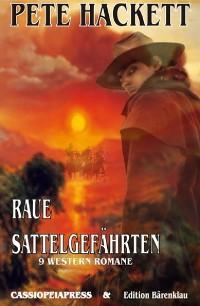 Cover Raue Sattelgefährten - 9 Western Romane