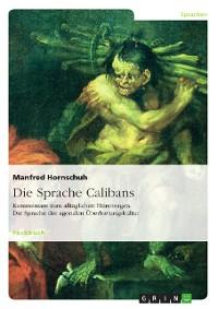 Cover Die Sprache Calibans