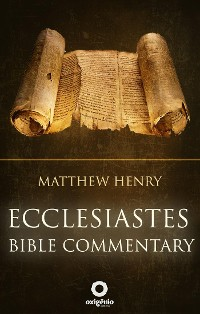 Cover Ecclesiastes - Bible Commentary
