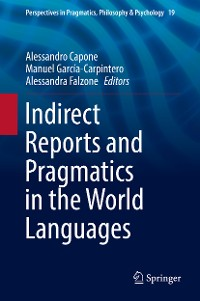 Cover Indirect Reports and Pragmatics in the World Languages