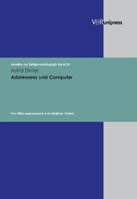 Cover Adoleszenz und Computer