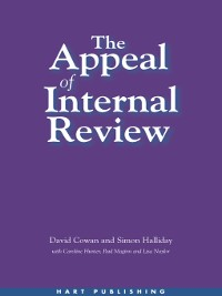 Cover The Appeal of Internal Review