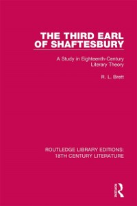 Cover Third Earl of Shaftesbury