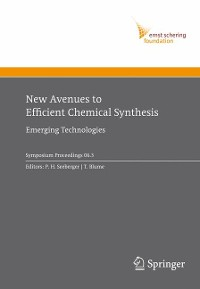 Cover New Avenues to Efficient Chemical Synthesis