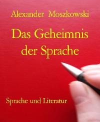 Cover Das Geheimnis der Sprache