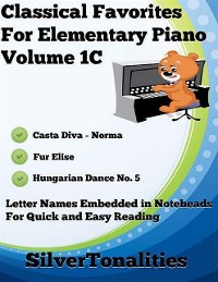 Cover Classical Favorites for Elementary Piano Volume 1 C