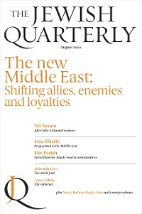 Cover Jewish Quarterly 245 The New Middle East