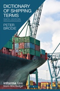 Cover Dictionary of Shipping Terms