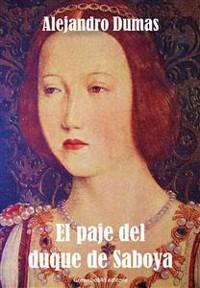 Cover El paje del duque de Saboya