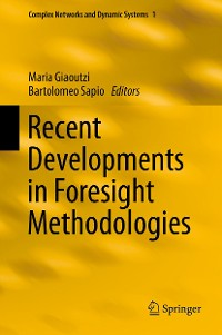 Cover Recent Developments in Foresight Methodologies