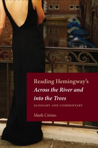 Cover Reading Hemingway's Across the River and into the Trees