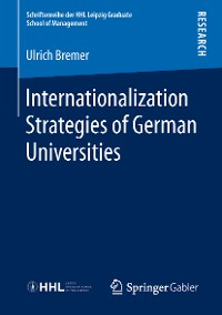 Cover Internationalization Strategies of German Universities