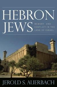 Cover Hebron Jews