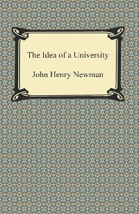 Cover The Idea of a University