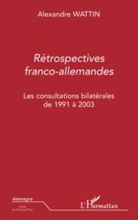 Cover Retrospectives franco-allemandes