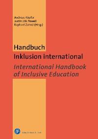 Cover Handbuch Inklusion international / International Handbook of Inclusive Education