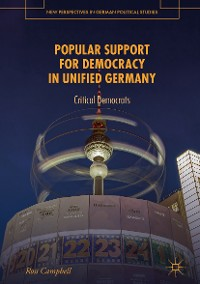 Cover Popular Support for Democracy in Unified Germany