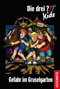 Cover Die drei ??? Kids, 6, Gefahr im Gruselgarten (drei Fragezeichen Kids)