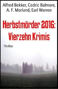 Cover Herbstmörder 2016: Vierzehn Krimis