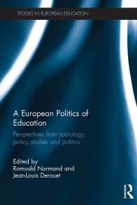 Cover European Politics of Education