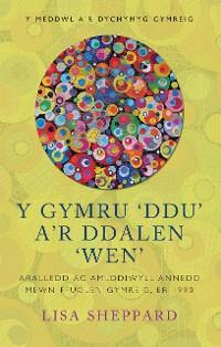 Cover Y Gymru Ddu ar Ddalen Wen