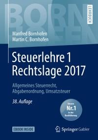 Cover Steuerlehre 1 Rechtslage 2017