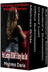 Cover Steamy Lesbian BDSM Stories 5 Story Box Set