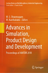 Cover Advances in Simulation, Product Design and Development