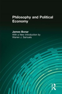Cover Philosophy and Political Economy