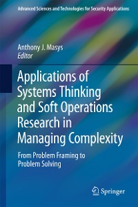 Cover Applications of Systems Thinking and Soft Operations Research in Managing Complexity