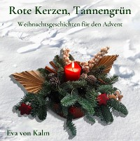 Cover Rote Kerzen, Tannengrün